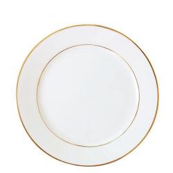 Placa de cerámica con recubrimiento de sublimación con oro Rim