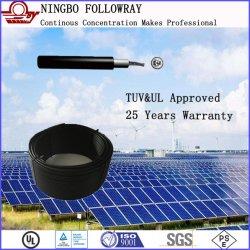 Cavo solare isolato approvato di PV del cavo di UL4703 12AWG 600V doppio