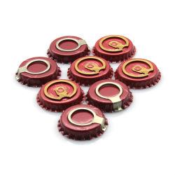 ビールDia 27mmのためのすべてのサイズのリングの引きのビンの王冠を32mm38mm 42mm 28mm卸し売りしなさい
