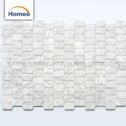 Горячая продажа природного камня Waterjet мозаика плитка итальянский дизайн мраморной мозаикой