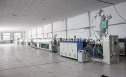 A produção de tubos PE linha de extrusão/Máquina de plástico para tubo