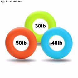 Les jouets de décompression colorées en silicone souple part doigt sportif de force