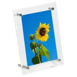 Vendre à chaud personnalisé en acrylique transparent les cadres de montage mural