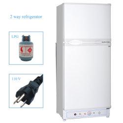 Topo Interno Montado no congelador de difusão de absorção de propano Gás Frigorífico Frigorífico