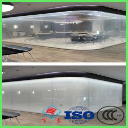 ISO 증명서 정보 원자로 만들어지는 전자 동력 조절 장식적인 지능적인 건축 유리 유리를 흐리게 하기