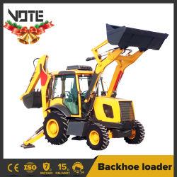 Tractor con la retroexcavadora y cargadora frontal 4WD pequeño tractor montado la retroexcavadora con precios baratos 6 Ton Ton Ton 9 7 8 10 Ton Ton.