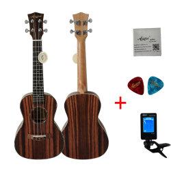 Aiersi 24 incl Java Ebony Wholesale Ukulele Concert Music Instrument