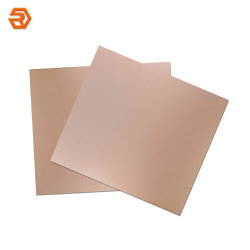 Resina epóxi de fibra de vidro revestidos de cobre FR4 Material de isolamento laminado