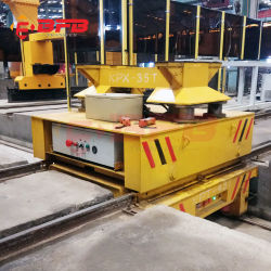 25t Heavy Duty Traverser Rail pour traverser les baies de manipulation de l'entrepôt