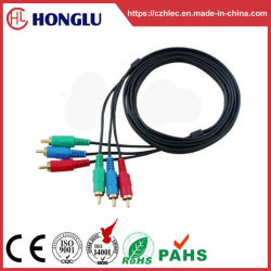 3RCA vers 3RCA audio vidéo Câble 2r 3r (SY007)