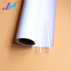 Revêtement blanc du papier film de plastification à froid en PVC pour le papier photo