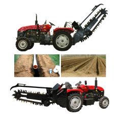 Pomar de fazenda Ditcher Valetadeira motocultivador corrente/máquina/máquina de escavação para fossos de escavação
