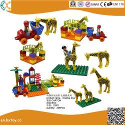 Briques de jouets éducatifs en plastique pour les enfants