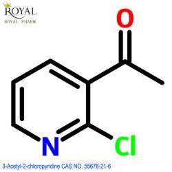 Langfristiges beständiges Zubehör hoher Reinheitsgrad-des pharmazeutischen Vermittler-Acetyls Chloropyridine CAS Nr. 55676-21-6
