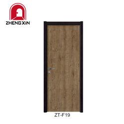 Водонепроницаемый WPC двери интерьером ламината заподлицо двери