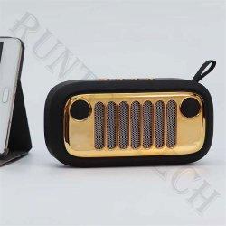 Mini altoparlante senza fili portatile dorato esterno del MP3 Bluetooth del metallo Xc-70