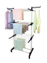 Sécheur du vêtement Vêtements de pliage Rack 3 Tier Vêtements serviette RACK Rack de séchage