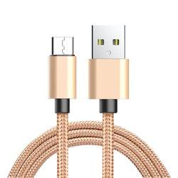 Android - Тип C экологически дружественных Нейлоновый кабель передачи данных для Android телефонов и типа с устройств USB