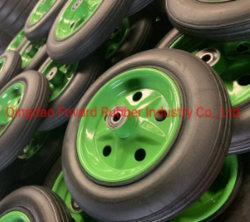 عجلة بودر مطاطي صلب 8 بوصات لعربة الأدوات