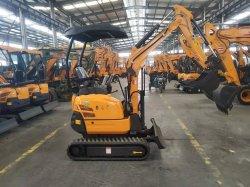 Minigräber des Nashorn-Xn18 1.8 Tonnen-Gleisketten-Exkavator-Teile