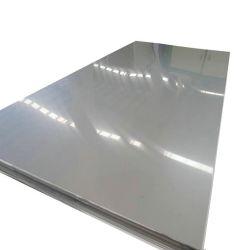 2b Ba Indicador de color satinado acabado espejo decorativo 304 316 316L Placa de acero inoxidable 310S