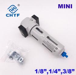Purge manuelle du filtre à air pneumatique 1/8 1/4 3/8 pouces mini Lf Source d'air de type de traitement