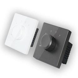 4-8オーム2*30Wのホームオーディオ・システムのための5つのステップの白く黒い小型86の標準の音量調節