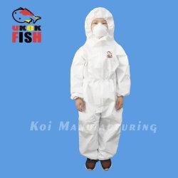 Дети в защитной одежде изоляции платье AAMI 2/3 сертификацию FDA