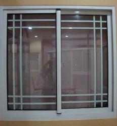مفصلة النافذة البلاستيكية زجاج مزدوج الزجاج الواضح المقسّى