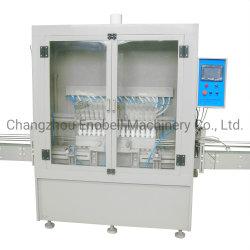 自動アンチコリスブボトルトイレクリーナー斜入ネックボトル液体充填 梱包機械