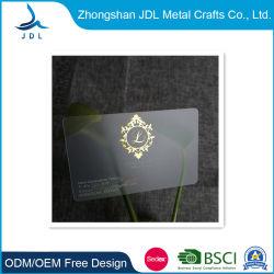 Échantillon gratuit de l'impression en relief coloré en métal noir en aluminium d'affaires, d'adhésion VIP Hôtel Key carte plastique PVC