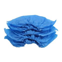 Tampa da sapata descartáveis não tecidos descartáveis para sapatos Non-Woven Cor Azul de tampa de porta-bagagens