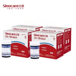 Glucomètre à usage domestique de qualité médicale avec bandelettes de test Sont stables et anti-interférences, adaptés au test GA-3 de type 200 Bandes 200 aiguilles
