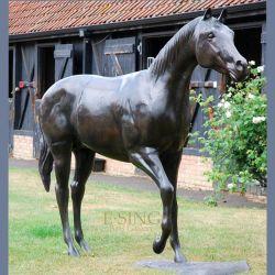Fabrico de grosso calibre Vida Antique Bronze Estátua de Cavalos