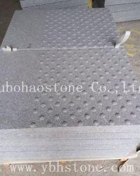 Le sésame naturelles blanc/G603/chaussée de pierre de granit/ Cubes/blind/finisseur Stone/pavage de la brique