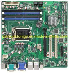 제조업체 Pancun LGA1155 소켓 마이크로 ATX 마더보드 DDR4 데스크탑 i3 i5 i7 CPU 지원 2666/2400MHz 메모리