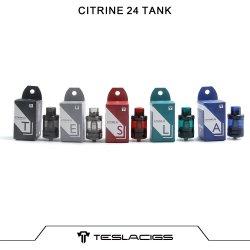 Licht gewogen Cheap PC Tank Teslacigs Citrine 24 510 Clearomizer