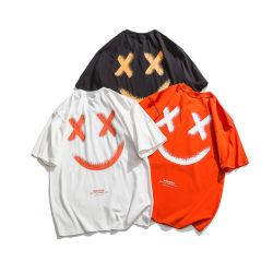 Hot-Sale Cartoon T pour le commerce de gros unisexe vide Design Logo personnaliser l'impression de broderie coton ODM OEM CVC6hot-Vente Cartoon T-Shirts pour le commerce de gros unisexe