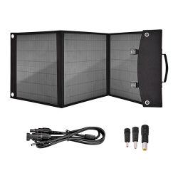 60W plegable resistente al agua de la ventana Solar Cargador Solar Panel de alimentación USB cargador de móvil para teléfonos móviles