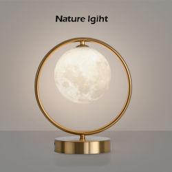 Vidro moderna estudo crystal Panda Luminious Childrens Kat Choldrens Dimming Gaiola geométrica Bar Mesa recarregável LED da lâmpada