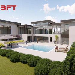 China Light Steel Resort Prehab House y estructura de acero claro Edificios Casa de enmarado
