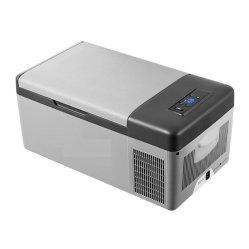 차량용 및 가정용 이동식 콤푸레셔 냉장고, 12V/24V DC 가정용 냉장고냉동 -20도 자동 냉각 15L