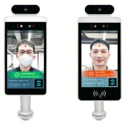 Готовы к отгрузке системная температура тела обнаруживает киоск с распознавание лиц