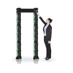 455 Empfindlichkeits-bewegliches Metalldetektor-Gatter mit LCD-Touch Screen APP Fernsteuerungs
