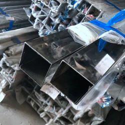 Miroir en acier inoxydable soudés 6K 8K polonais Rectangle Carré du tube de tuyau