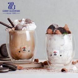 80 ml 150 ml 250 ml 350 ml vetro borosilicato resistente al calore a doppia parete Tazza Creative nuovo vetro caffè tè acqua latte vino birra Tazze da tazza per bevande
