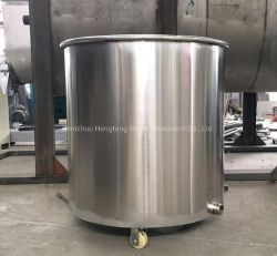 음료 및 음식을 위한 이동식 스테인리스 스틸 배럴