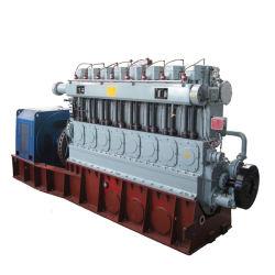 セリウムISO公認の低いRpmの高性能500kwの生物量のガスの発電機