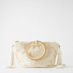 2020人の最も新しい女性の袋の白いタケハンドルのハンドバッグのCrossbody袋