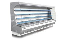 Supermarché Vegetble Multideck Ouvrir le refroidisseur d'affichage et de fruits et boissons commerciaux réfrigérateur